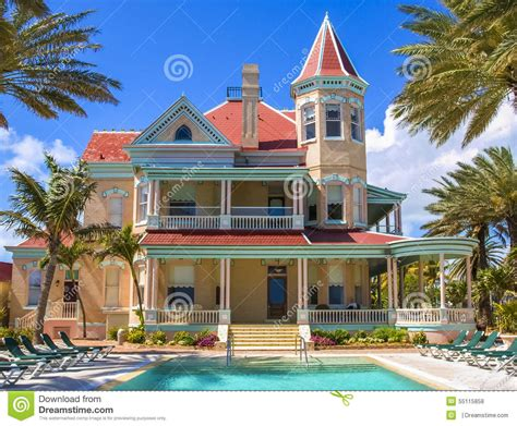 southernmost house southernmost house in key west florida stock photo image 55115858