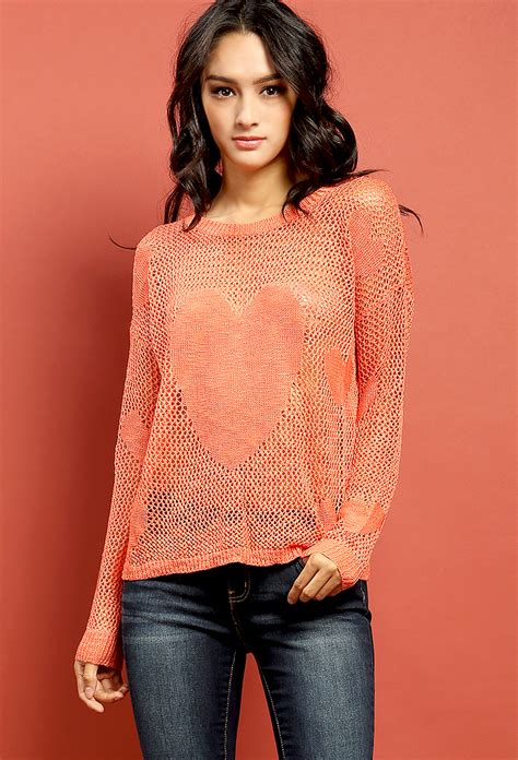 Patterned Sweaters by Patterned Open Knit Sweater Shop Sweaters
