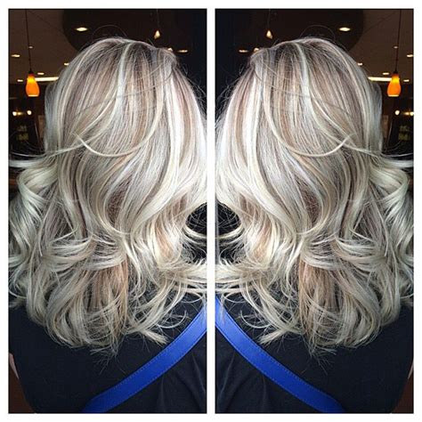 blonde hair with silver highlights 1000 ideas about platinum blonde highlights on pinterest