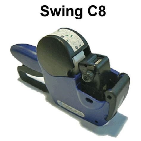 swing label swing c8 label guns positive id labelling