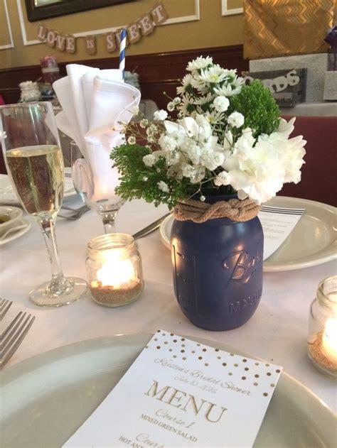 jar centerpieces for bridal shower best 25 nautical bridal showers ideas on nautical bachelorette nautical