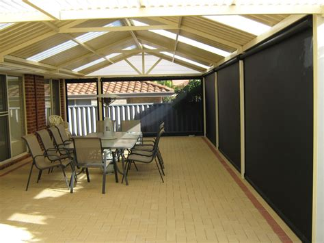 alfresco awnings outdoor blinds perth action awnings