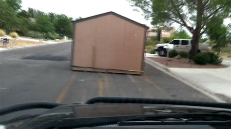 How To Move A Shed Onto A Trailer by How To Move A Tuff Shed
