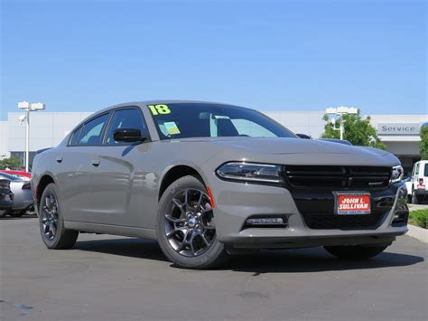 New 2018 Dodge Charger GT 4D Sedan in Yuba City #00017249