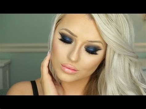 eyeshadow tutorial gwen stefani palette urban decay gwen stefani palette tutorial blue smokey