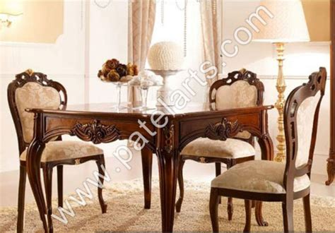 Indian Dining Room Furniture Wooden Dining Set Wooden Carved Dining Table Wooden Carved Dining Sets Manufacturers India