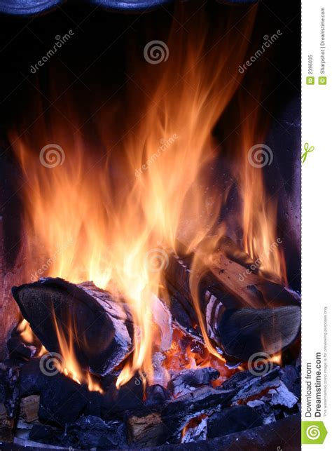 close up fireplace close up of a fire royalty free stock photo image 2396005