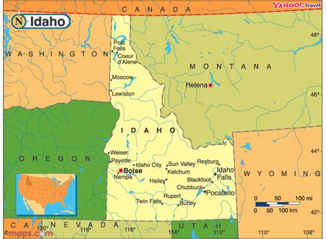 map of oregon idaho border laportehighschool idaho