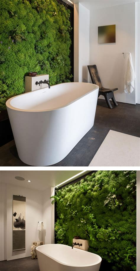 moss in bathroom moss walls the interior design trend that turns your home