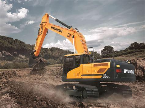 hyundai excavator specs hx300 l crawler excavator hyundai construction equipment