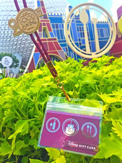 Epcot Gift Card - epcot food and wine festival gift cards