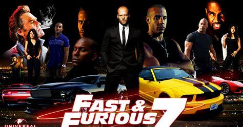 kumpulan film fast and furious koleksi poster film fast furious 7 2015 gambar gambar