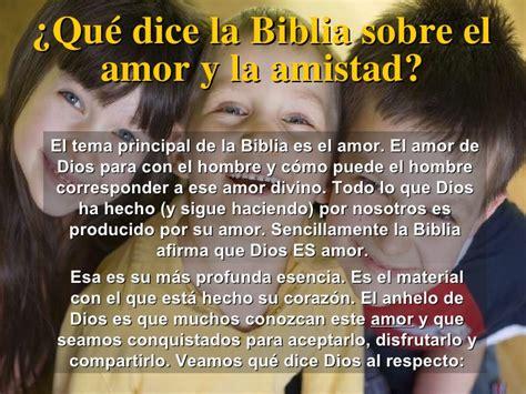 mensajes subliminales que dice la biblia el amor y la amistad