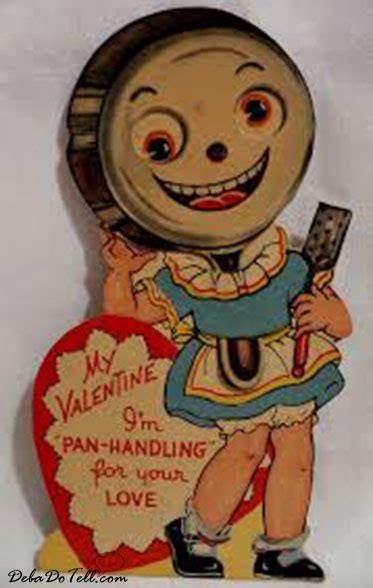 creepy vintage valentines 26 creepy scary vintage cards deba do tell