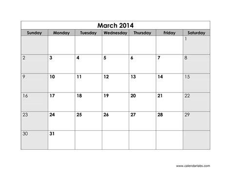 Calendar Print Out 2014 Calendar Printout