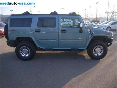for sale 2007 passenger car hummer h2 suv fresno
