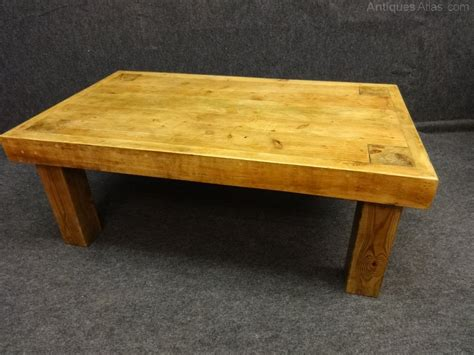 Pine Coffee Tables Pine Coffee Table Antiques Atlas