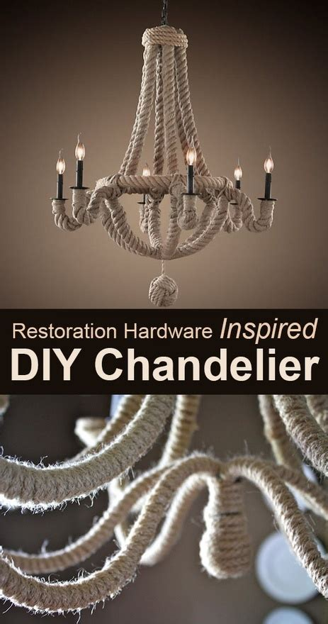 Rope Chandelier Diy Pin By Baker On C Diy