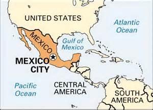Map still mexico city mexico