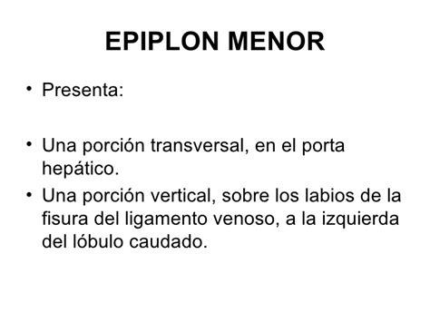 vestibulo de la transcavidad de los epiplones anatomia de higado
