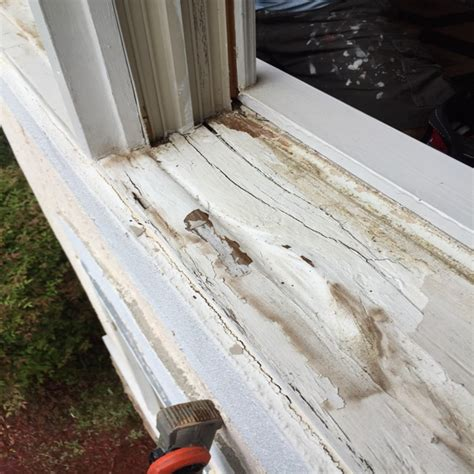 Wood Sill Wood Window Sill Replacement Peachtree City Ga Mr Painter