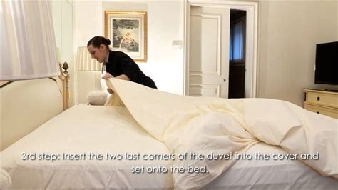 making the bed four seasons hotel george v paris professional bed making and cleaning tips youtube