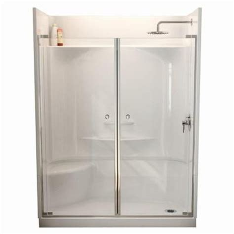 Home Depot Showers With Seat by Maax Essence 6030 4 Shower Left Seat Home