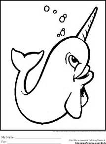 narwhal coloring page narwhal coloring pages mm pp