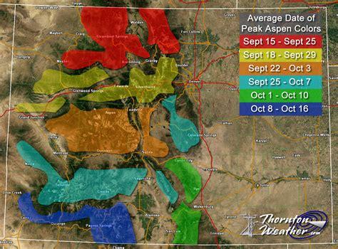 colorado foliage map fall foliage 2015 top spots to view the colors near the