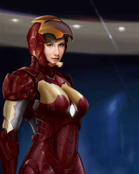 iron woman packwooddeviantartcom atdeviantart
