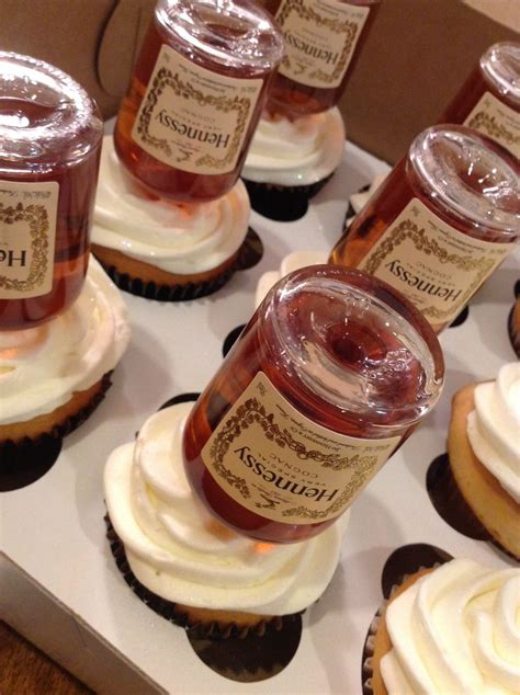 hennessy cupcakes epiphanies dessert realizations