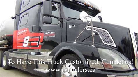 2004 volvo truck sold rvhaulers 2004 volvo 780 dale earnhardt jr special