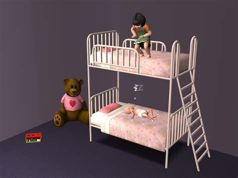 futon kinder mod the sims the kinder beds maxis add ons