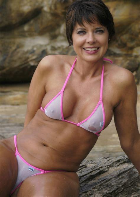 women in see through bikinis young at heart milfs pinterest swimwear bikini