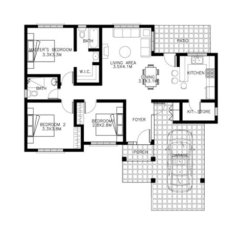 design floor plan 40 small house images designs with free floor plans lay