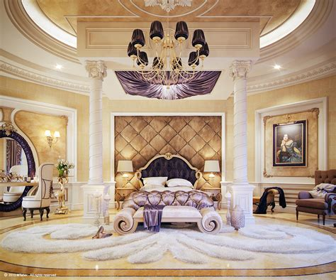 luxury master bedroom  behance
