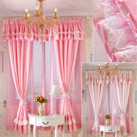 ruffle bedroom curtains pink ruffle curtains great pink ruffle curtains with pink