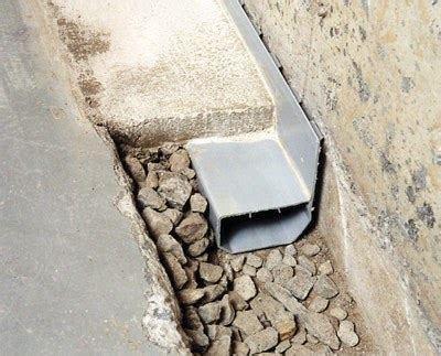 drains basement drain systems vs interior perimeter drainage