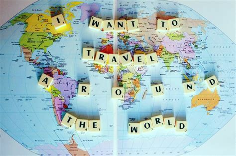 Traveling Around The World itsloreta i want to travel around the world