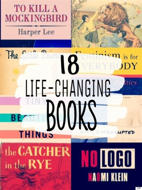 lifechange books 18 changing books we all need on our reading lists