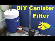 membuat filter aquarium dari pvc diy 55 gallon barrel pond filter aquaponics filter