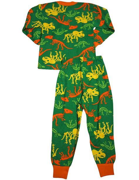 toddler dinosaur pajamas s prints boys sleeve dinosaur pajamas