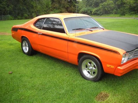 plymouth duster 360 1973 plymouth duster 360 mopar magnum for sale plymouth