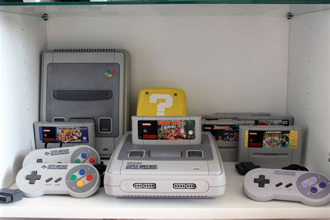 console retro ma collection de retrogaming les consoles nintendo