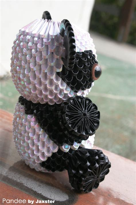 How To Make 3d Origami Panda - 3d origami panda 3d origami