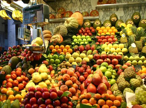 fruit market free photo fruits market stall vegetables free image