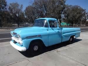 1959 Chevrolet Apache Fleetside Find Used 1959 Chevrolet Apache Fleetside Truck Drive It