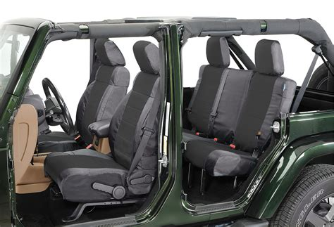 cordura seat covers jeep coverking front rear ballistic seat cover combo