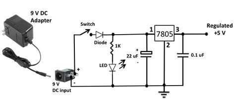 Adaptor Dc 9v Arduino Power Supply Input 220v Ac 5 5x2 Murah regulated power supply for your breadboard embedded lab