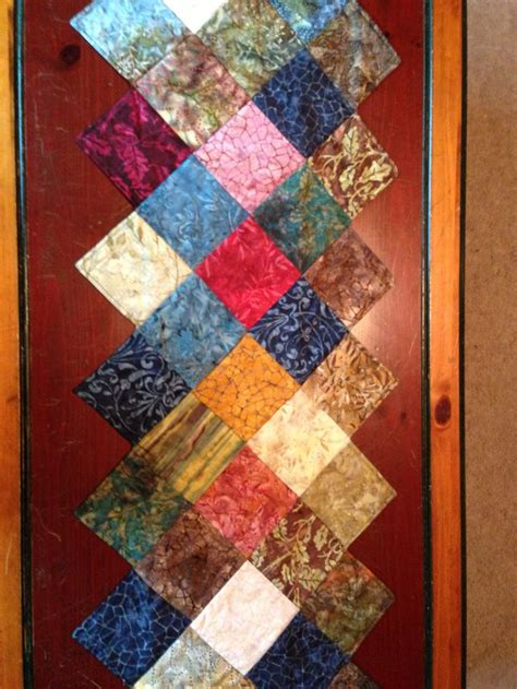 charm pack table runner charm pack quilted table runner moody river quilts